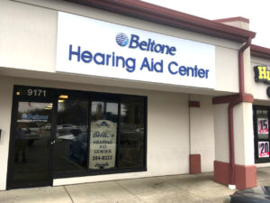 Beltone Hearing Aid Center in Mentor storefront